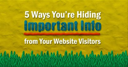 5 bad web design examples that hide info on website