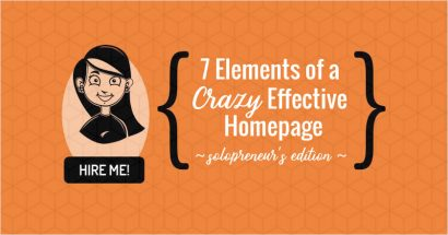 7 elements to create an effective homepage