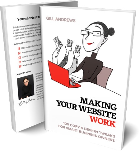 Book cover: Making your website work