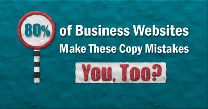 Copywriting mistakes from copy critique