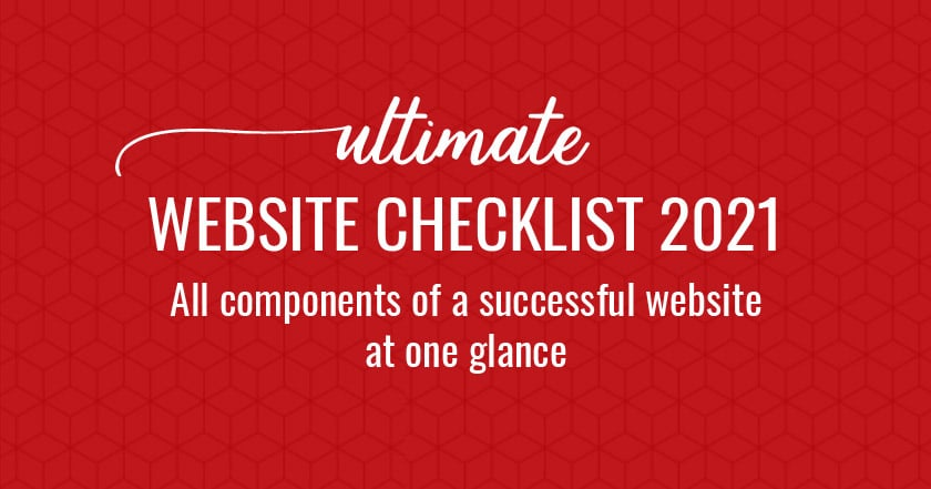 Website checklist pdf 2021