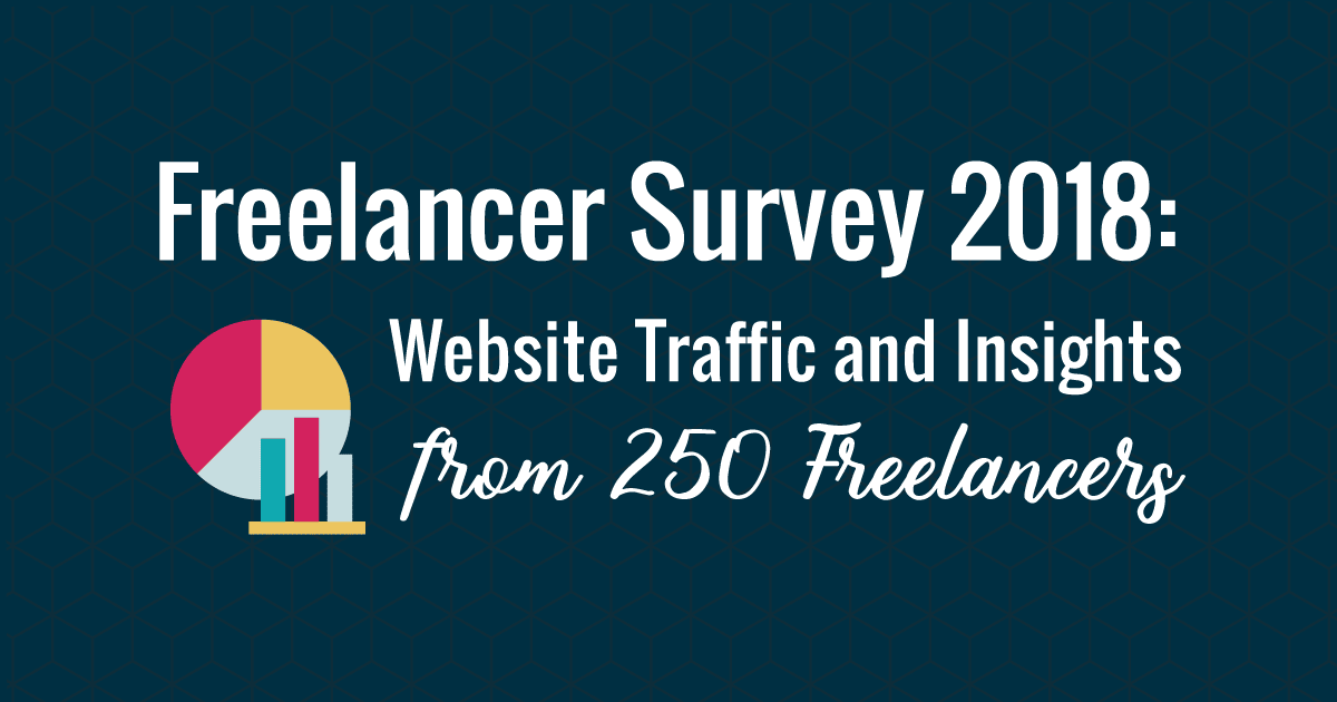 Freelancer Survey 2018: Website Traffic and Insights from 250 Freelancers