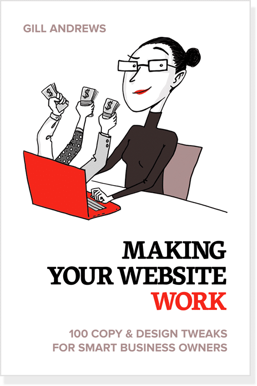 "Book cover: ""Making Your Website Work"""