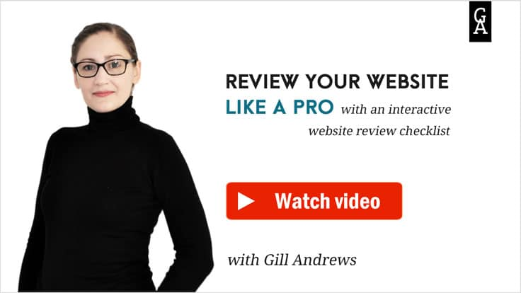 Video: Introducing interactive website review checklist