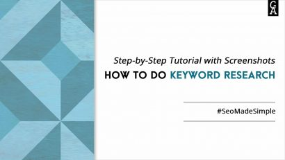 How to Do Keyword Research. Step-by-Step Tutorial with Screenshots.