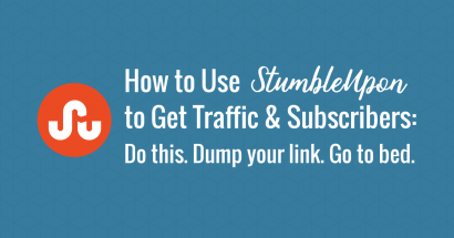 How to Use StumbleUpon to Get Traffic and Subscribers