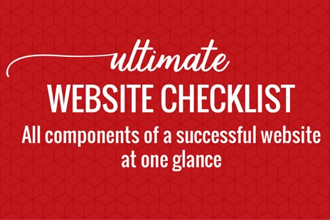 download free website checklist pdf