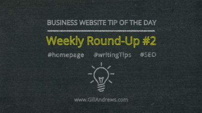 Business Website Tip of the Day: Weekly Round-Up #2
