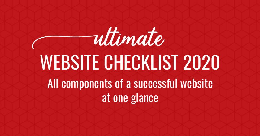 Website checklist 2020: PDF
