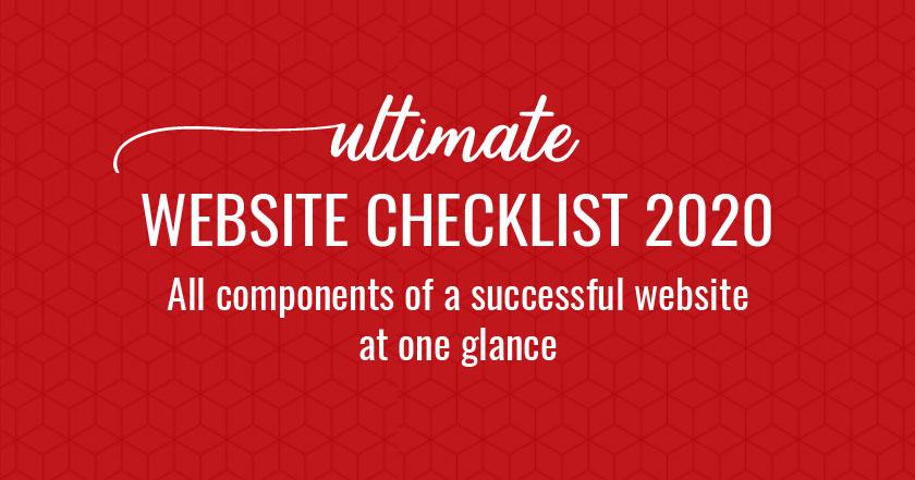 Website Checklist PDF 2020