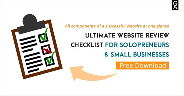 download free website review checklist