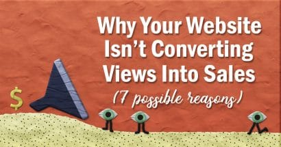 Why your website isn't converting views into sales